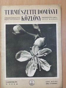 Dr. Aujeszky László - Természettudományi Közlöny 1957. május [antikvár]