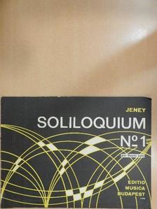 Jeney Zoltán - Soliloquium N. 1 [antikvár]