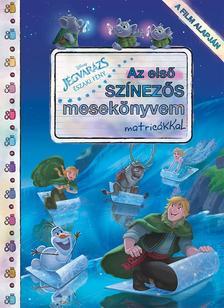 .- - Disney - Jégvarázs: Északi fények - Az első színezős mesekönyvem matricákkal