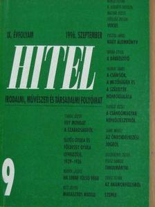 Bertók László - Hitel 1996. szeptember [antikvár]