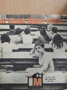 Dr. Farkas Henrik - Ifjúsági Magazin 1974. szeptember [antikvár]
