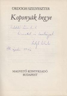 Ördögh Szilveszter - Koponyák hegye (dedikált) [antikvár]