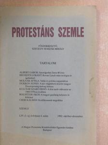 Albert Gábor - Protestáns Szemle 1992. október-december [antikvár]