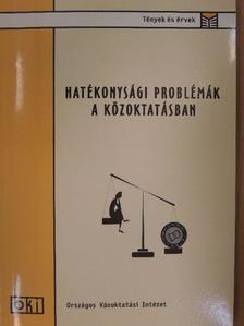 Hermann Zoltán - Hatékonysági problémák a közoktatásban [antikvár]