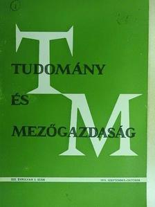 Babó Tivadar - Tudomány és Mezőgazdaság 1975. szeptember-október [antikvár]