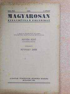 Cziráki József - Magyarosan 1939/4. [antikvár]
