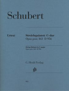Franz Schubert - STREICHQUINTETT C-DUR OP.POST.163 D 956 STUDIENPARTITUR URTEXT (EGON VOSS)