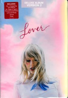 TAYLOR SWIFT - LOVER CD TAYLOR SWIFT - DELUXE ALBUM VERSION 2