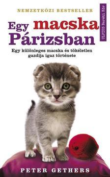 Peter Gethers - Egy macska Párizsban - Egy különleges macska és tökéletlen gazdija története