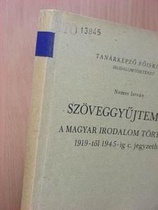 Áprily Lajos - Szöveggyűjtemény a magyar irodalom története 1919-től 1945-ig c. jegyzethez [antikvár]