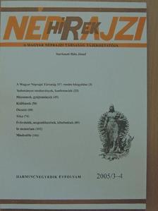 Bali János - Néprajzi Hírek 2005/3-4. [antikvár]