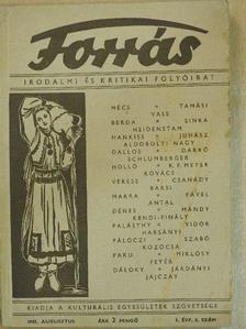 Aldobolyi Nagy Miklós - Forrás 1943. augusztus [antikvár]