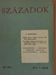 A. A. Sevjakov - Századok 1976/5. [antikvár]
