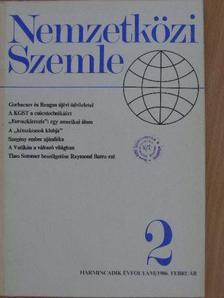 Bálint István - Nemzetközi Szemle 1986. február [antikvár]
