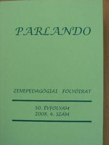 Hollós Máté - Parlando 2008/4. [antikvár]