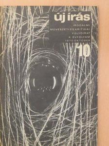 Császár István - Új Írás 1970. október [antikvár]
