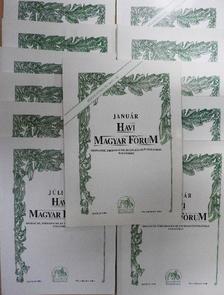 Csurka István - Havi Magyar Fórum 1999. január-december [antikvár]