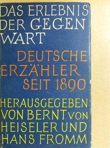 Ernst Jünger - Das Erlebnis der Gegenwart [antikvár]