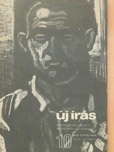 Csák Gyula - Új Írás 1978. október [antikvár]