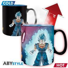 Abysse Europa Kft. - DRAGON BALL SUPER - Mug Heat Change - 460 ml Vegito & Trunks
