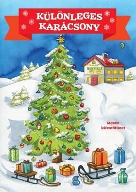 FOGLALKOZTATÓ - Különleges karácsony - Mesés kifestőfüzet