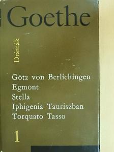 Goethe - Drámák 1. [antikvár]