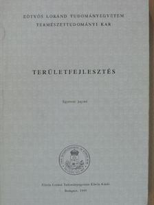 Dr. Bartke István - Területfejlesztés [antikvár]