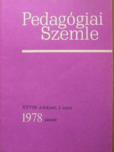 A. A. Frolov - Pedagógiai Szemle 1978. január [antikvár]