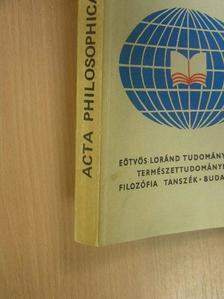 Darvas György - Acta Philosophica 12. [antikvár]