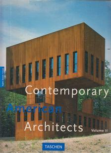 Philip Jodidio - Contemporary American Architects Volume II. [antikvár]