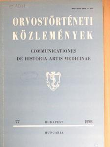Bíró Imre - Orvostörténeti közlemények 77. [antikvár]