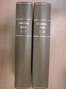 András Kubinyi - Századok 2000/1-6. I-II. [antikvár]