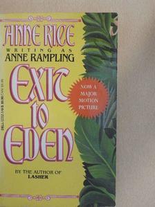 Anne Rampling - Exit to Eden [antikvár]
