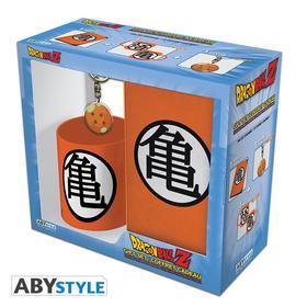 """Abysse Europa Kft. - DRAGON BALL - ajándékcsomag bögre 320ml +kulcstartó+ füzet """"Kame"""""""