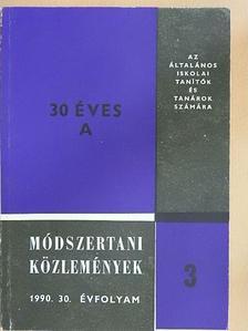 Balogh József - Módszertani közlemények 1990/3 [antikvár]