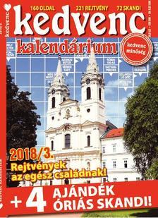 CSOSCH KIADÓ - Kedvenc Kalendárium 2018/3.