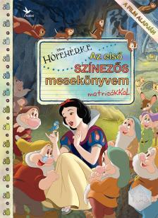 .- - Disney - Hófehérke - Az első színezős mesekönyvem matricákkal