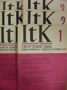 Agárdi Péter - Irodalomtörténeti Közlemények 1974/1-6. [antikvár]