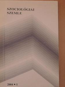 Ádám Szilvia - Szociológiai szemle 2004/1-4. [antikvár]