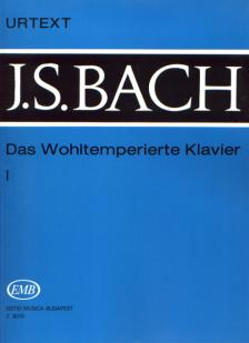J. S. Bach - DAS WOHLTEMPERIERTE KLAVIER I BWV 846-869 (LANTOS ISTVÁN) URTEXT