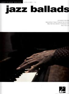 JAZZ PIANO SOLOS VOL. 10 JAZZ BALLADS