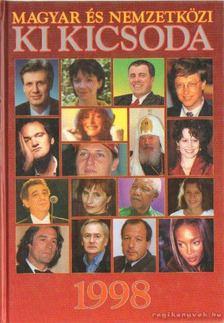 Hermann Péter - Magyar és nemzetközi ki kicsoda 1998 [antikvár]