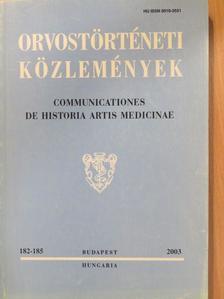 Amir Muzur - Orvostörténeti közlemények 182-185. [antikvár]