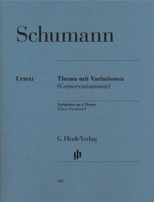 Schumann, Robert - THEMA MIT VARIATIONEN (GEISTERVARIATIONEN) FÜR KLAVIER URTEXT (SEIFFERT / SCHILDE)