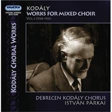 KOD - WORKS FOR MIXED CHOIR VOL.3 CD PÁRKAI, DEBRECEN KODÁLY CHORUS