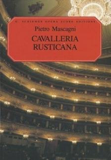 MASCAGNI - CAVALLERIA RUSTICANA. VOCAL SCORE