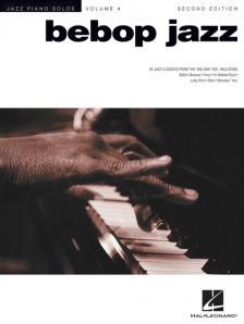 JAZZ PIANO SOLOS VOL. 4 BEBOP JAZZ