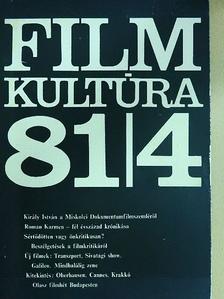 Báron György - Filmkultúra 1984. július-augusztus [antikvár]