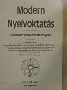 Banczerowski Janusz - Modern Nyelvoktatás 2004/2-3. [antikvár]