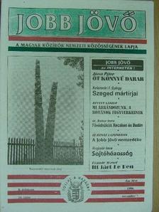 Bognár József - Jobb Jövő 1996. november 7. [antikvár]